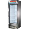 True GDM23-HCLD-ALUM Upright Merchandiser
