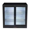 Hallco HC2BK-SD Undercounter Bottle Cooler